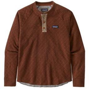 Men's Patagonia Wool Blend Diamond Quilt Henley